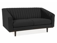 Sofa ASPREY 2 Velvet - czarny Bluvel 19