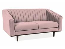 Sofa ASPREY 2 VELVET - róż antyczny Bluvel 52