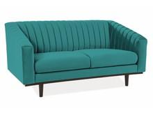 Sofa ASPREY 2 VELVET - turkusowy Bluvel 85