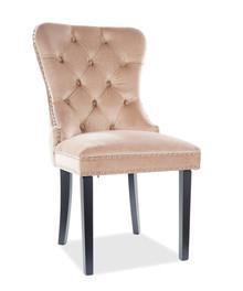 Krzesło AUGUST Velvet - beż Bluvel 28