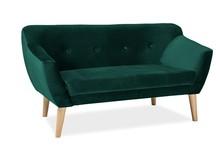 Sofa BERGEN 2 Velvet - zielony Bluvel 78