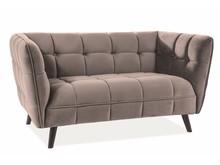 Sofa CASTELLO 2 Velvet - beżowy Bluvel 28