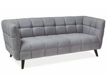 Sofa CASTELLO 3 - jasny szary Lira 09
