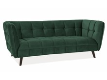 Sofa CASTELLO 3 VELVET - zielony Bluvel 78