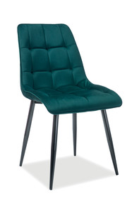 Krzesło CHIC Matt Velvet - zielony