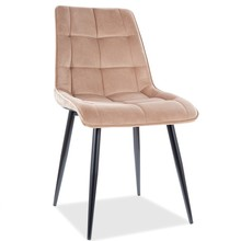 Krzesło CHIC Velvet - beżowy Bluvel 28