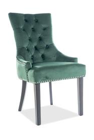 Krzesło EDWARD Velvet - zielony Bluvel 78