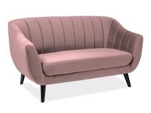 Sofa ELITE 2 VELVET - róż antyczny Bluvel 52