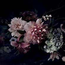 Obraz na szkle FLOWERS III 80x80