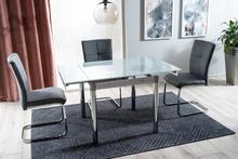 Stół rozkładany GD-082 80/131x80 - biały