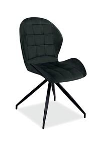 Krzesło HALS II Velvet - czarny Bluvel 19