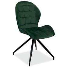 Krzesło HALS II Velvet - zielony Bluvel 78