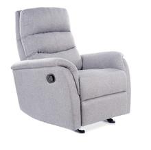 Fotel rozkładany JOWISZ - szary