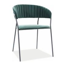 Krzesło LIRA B Velvet - zielony