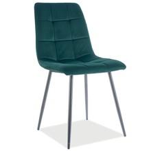 Krzesło MILA Matt Velvet - zielony