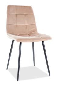 Krzesło MILA Velvet - beż Bluvel 28