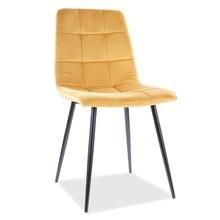 Krzesło MILA Velvet - curry Bluvel 68