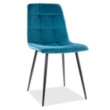 Krzesło MILA Velvet - turkusowy Bluvel 85