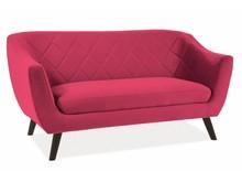Sofa MOLLY 2 VELVET - bordowy Bluvel 59