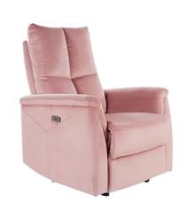 Fotel rozkładany NEPTUN Velvet - antyczny róż Bluvel 52