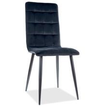 Krzesło OTTO Velvet - czarny Bluvel 19