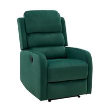 Fotel rozkładany PEGAZ Velvet - zielony Bluvel 78