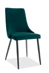 Krzesło PIANO B Matt Velvet - zielony