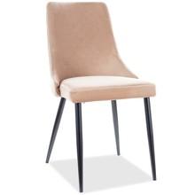 Krzesło PIANO B Velvet - beż Bluvel 28