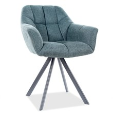 Krzesło obrotowe ROMEO - zielony/czarny