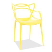 Krzesło TOBY - żółty