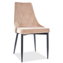Krzesło TRIX B Velvet - beż Bluvel 28