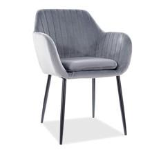 Krzesło WENUS Velvet - szary Bluvel 14