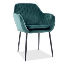 Krzesło WENUS Velvet - zielony Bluvel 78