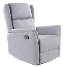 Fotel rozkładany ZEUS - szary