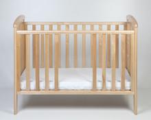 Łóżeczko dziecięce z wyjmowanymi szczebelkami NICOLE 120x60 - naturalny