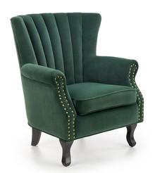 Fotel TITAN - ciemny zielony