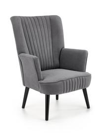 Fotel wypoczynkowy DELGADO - popielaty Bluvel 14