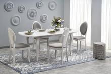 Stół rozkładany HORACY - biały