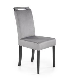 Krzesło CLARION 2 - czarny/popiel