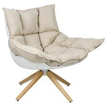 Fotel STAR - biały/beżowy