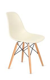 Krzesło DSW WOOD - migdałowy