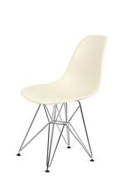 Krzesło DSR SILVER - migdałowy