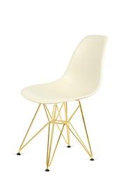 Krzesło DSR GOLD - migdałowy