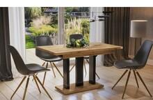 Stół rozkładany APPIA 130/170x80 - dąb artisan