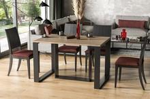 Stół rozkładany BORYS 130/250x80 - dąb sonoma