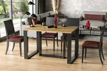 Stół rozkładany BORYS 130/290x80 - dąb artisan