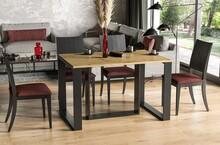 Stół rozkładany BORYS 130/330x80 - dąb artisan