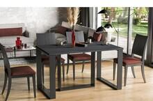 Stół rozkładany BORYS BIS 130/190x90 - ciemny beton