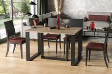 Stół rozkładany BORYS BIS 130/190x90 - dąb sonoma