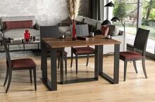 Stół rozkładany BORYS BIS 130/250x90 - dąb stirling